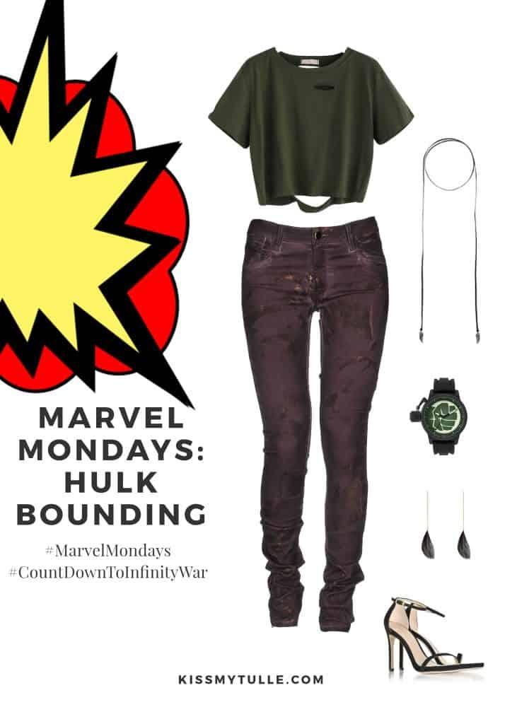 Marvel Mondays: Hulk Bounding #MarvelBounding #MarvelMovies #Hulk #CountDownToInfinityWar #MarvelMondays
