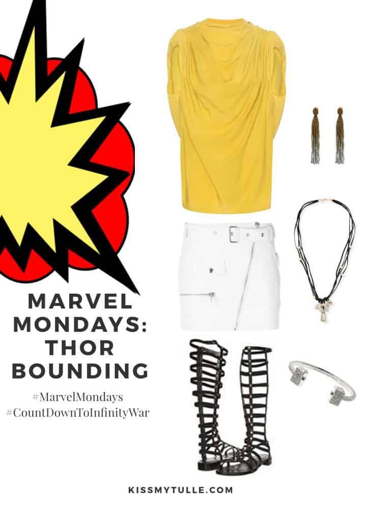 Marvel Mondays: Thor Bounding #MarvelBounding #MarvelMovies #IThor #CountDownToInfinityWar #MarvelMondays