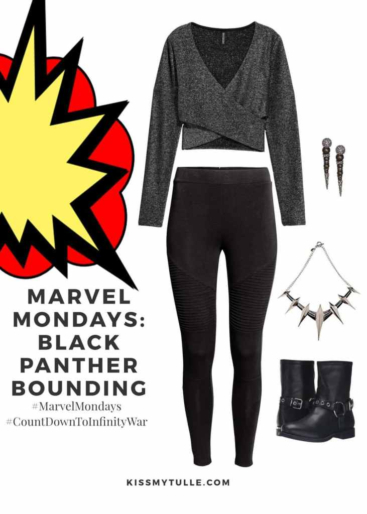 Marvel Mondays: Black Panther Bounding #MarvelBounding #MarvelMovies #BlackPanther #CountDownToInfinityWar #MarvelMondays