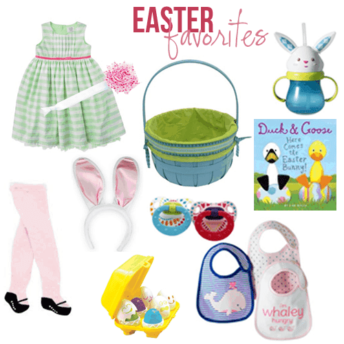 Planning Melanie's First #Easter. Do you have any cute, affordable ideas for your Easter baskets or eggs? #baby