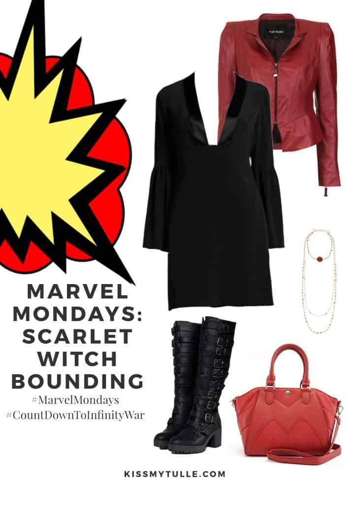Marvel Mondays: Scarlet Witch Bounding #MarvelBounding #MarvelMovies #ScarletWitch #Avengers #CountDownToInfinityWar #MarvelMondays