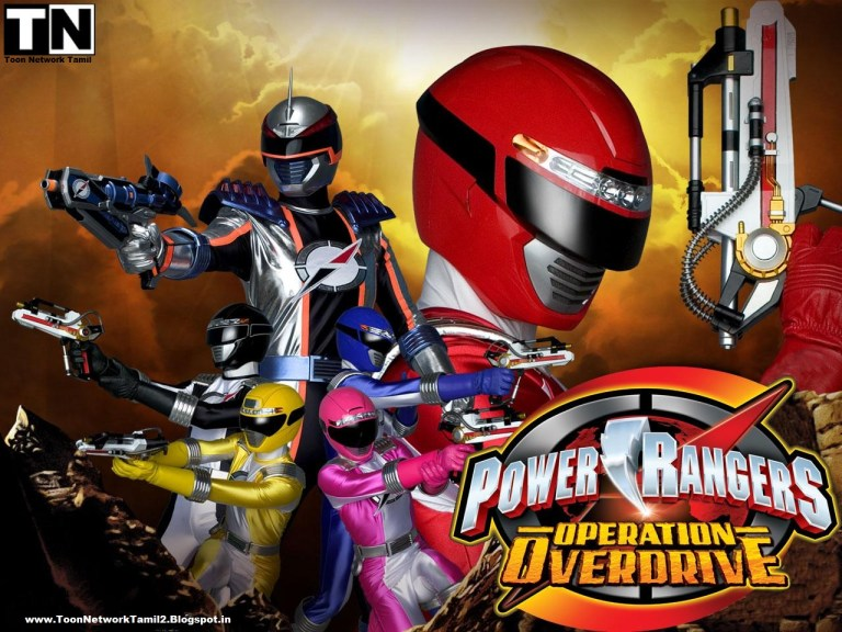 Power Rangers: Operation Overdrive Tamil Episodes