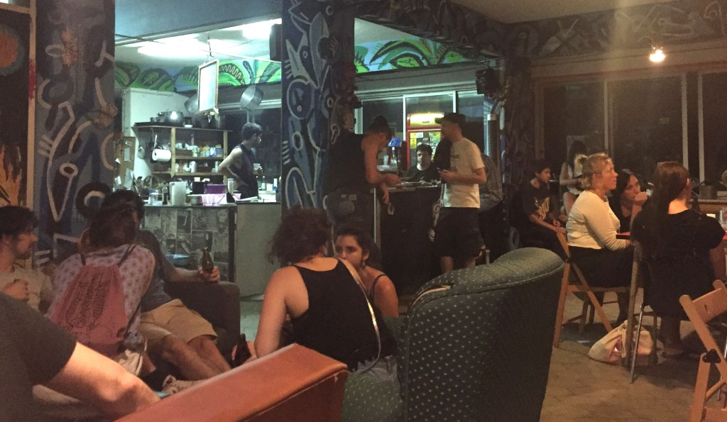 Disgraca Bar and Social Venue in Lisbon, Portugal.