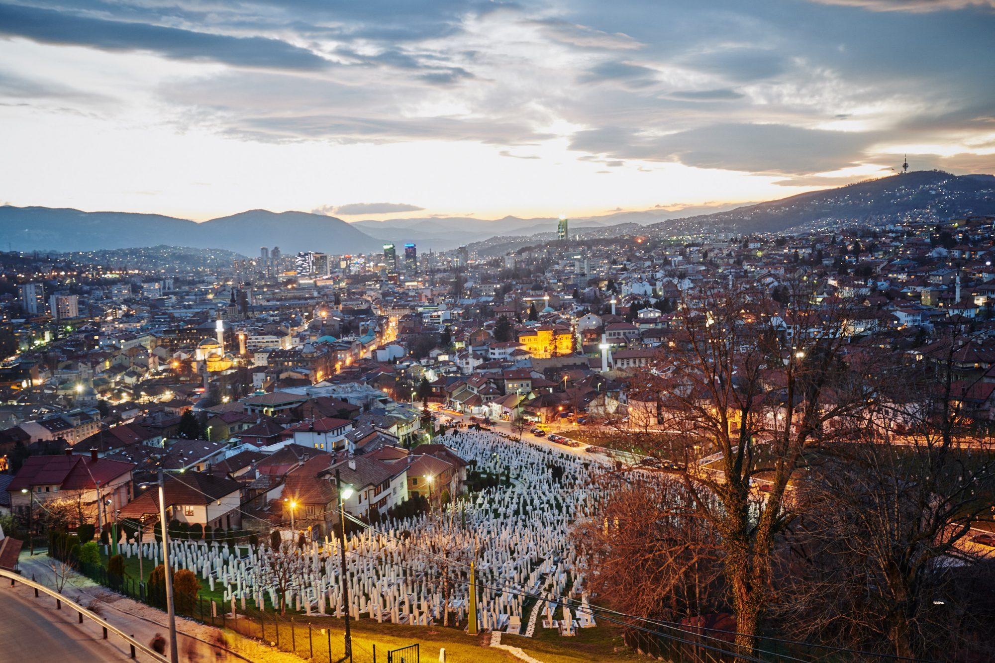 Yellow Bastion View Sarajevo