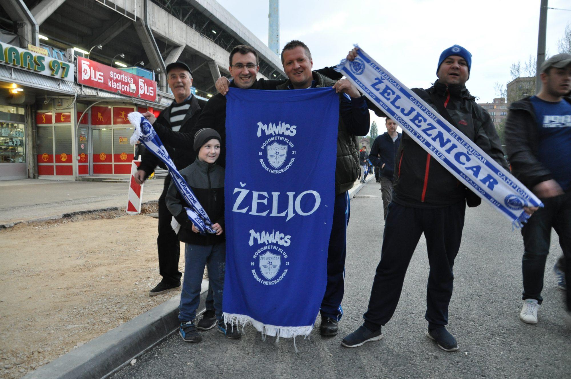 Zeljo at Grbavica Stadium