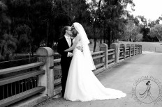 lakelands golf club wedding talia tim kiss the groom-54