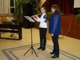 Hegedűs Gabriella és Borbényi Márta előadása