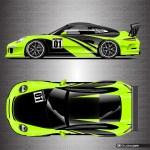 Porsche Racing Livery Wrap Elixir Ki Studios