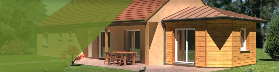 Kit Habitat Extension Garage Studio De Jardin