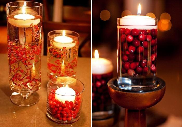 Beaucoup préfèrent mettre des bougies dans les plus beaux chandeliers, et nous pouvons les faire de nos propres mains