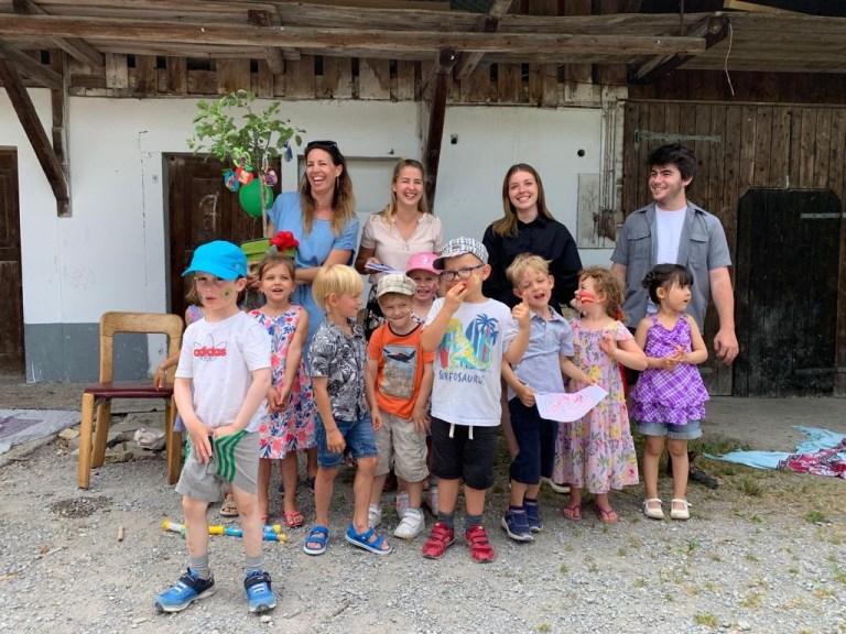 Abschiedsfeier der zukünftigen Kindergartenkinder