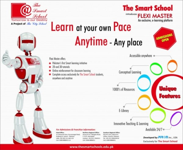 The Smart School System Admission 2017 Apply, Test, Application Forms Download