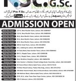 Unique Science Academy Admission Entrance Test Preparation 2014 Open for FA, FSc, ICs, GSc Pre Medical/Engineering