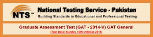 NTS GAT Test General 2014-V Apply Online Eligibility Criteria Registration Procedure