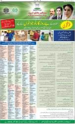 Benazir Bhutto Youth Development Program Registration Courses 2014 Matric Inter Diploma