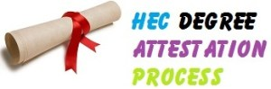 Procedure & Requirements to Degree Verification/Attestation of HEC
