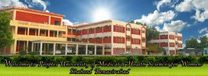 Peoples University of Medical & Health Sciences for Women Benazirabad/Nawabshah Admission 2017 MBBS BDS Application Form Procedure to Apply Medical College in Sindh