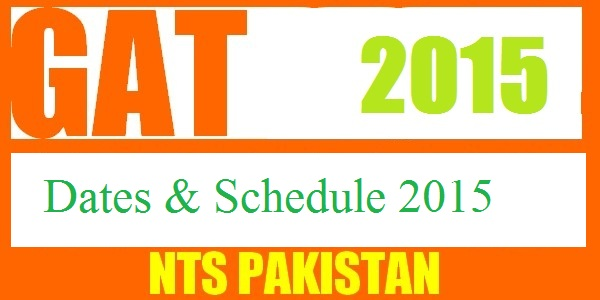 NTS GAT Test General Subject Law Dates and Schedule 2019