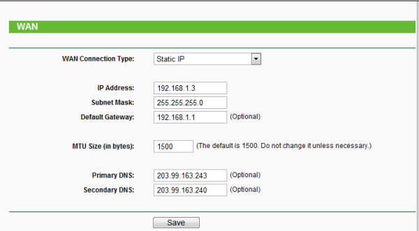 How to Configuration Process of TP Link Router and PTCL Modem