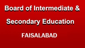 Bise Faisalabad Intermediate 12th Class Result 2017 bisefsd Board 12th Result 2017