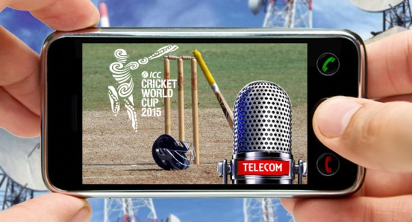 Zong ICC Cricket World Cup 2015 Live Score Updates on Mobile Free SMS