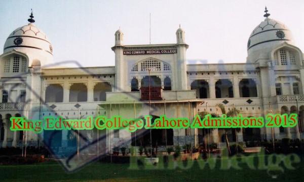 King Edward Medical University Lahore KEMU Admission 2017 Eligibility Criteria Form Download