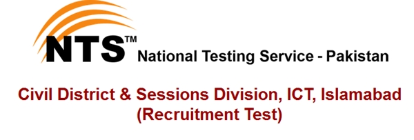 Civil District & Sessions Division, ICT, Islamabad Jobs 2015 NTS Test Interview Schedule