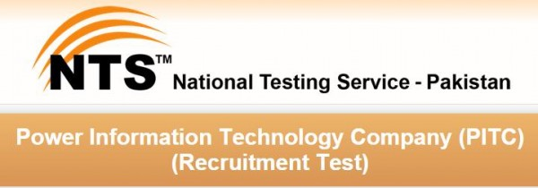 NTS Test 2015 Result Answer Key Roll Number Slips of Power Information Technology Company PITC