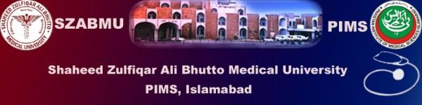 Shaheed Zulfiqar Ali Bhutto Medical University Admission 2017 Eligibility Criteria Form Download