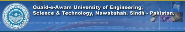 QAU College of Engineering Science and Technology Larkana Admission 2020