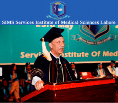 SIMS Services Institute of Medical Sciences Lahore Admission Fall 2017 in MBBS BDS DPT D.Pharm Eligibility Criteria Application Form
