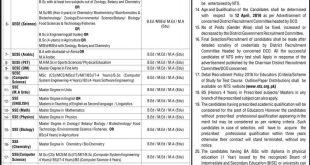 Educators Jobs 2021 Application Form Download Punjab District Wise Allocation