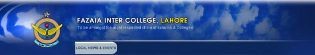 Fazaia Inter College Lahore Admission 2017 Form Download Eligibility Criteria of Courses