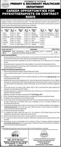 Walled City Authority Lahore Jobs 2017 NTS Recruitment Test Application Form Download Roll Number Slips Centers Details List of Candidates