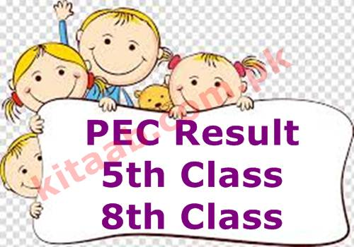 PEC 5th Class Result 2021 Punjab Board 5th Grade