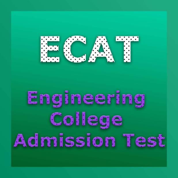 ECAT Test 2018 Answer Key Result Online Admission Entrance Test
