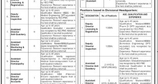 Sindh Healthcare Commission Jobs 2021 Application Form Available Online