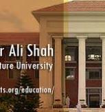 Pir Mehr Ali Shah Arid Agriculture University UAAR Rawalpindi Entry Test 2020