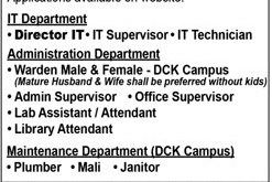 Karachi DHA Suffa University Jobs 2021 Faculty Application Form Last Date How to Apply