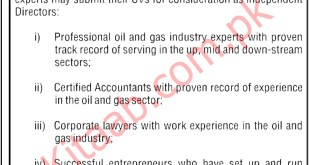 Islamabad Ministry of Energy Petroleum Division Jobs 2021 Application Form Download