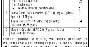 Shaheed Benazir Bhutto University Teaching and Non Teaching Jobs 2021 Application Form Eligibility Criteria