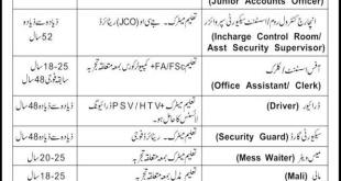 Wah Cantt University of Wah Jobs 2021 Last Date Application Form Registration Schedule