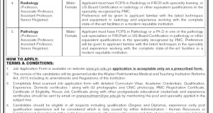 Peshawar Institute of Cardiology PIC, MIT Jobs 2021 Apply Online Eligibility Criteria