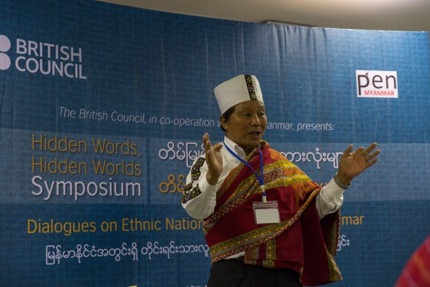 Ethnic Chin writer Stephen Ni Kio