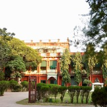 Front view of the Tagore mansion