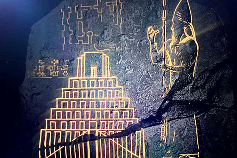 Menara Babel Ditemukan? Tablet Babilonia Kuno Melukiskan Gambar Pertama Menara Babel di Alkitab