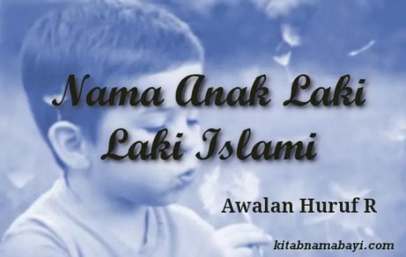 nama anak laki laki islami awalan r