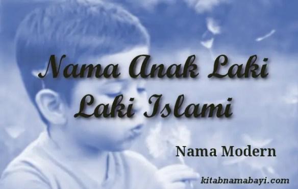 nama anak laki laki islami modern