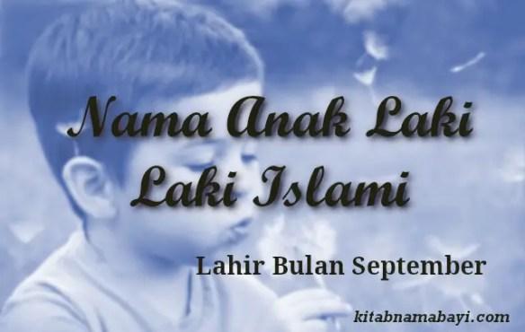 nama anak laki laki islami bulan september