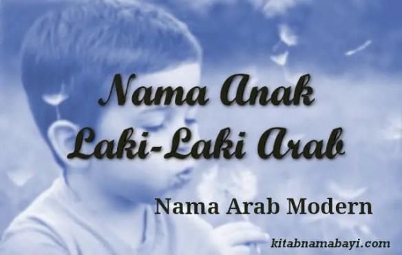 Nama Anak Laki Laki Arab Modern